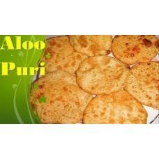 Alu Puri/Aloo Puri (Bangladesh)