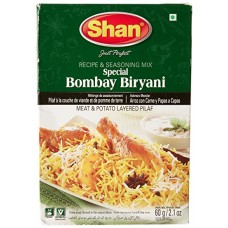 Bombay Biryani Mix (Shan) Product of Pakistan.